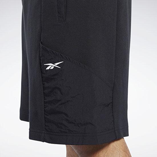 תמונה של Knit-Woven Shorts