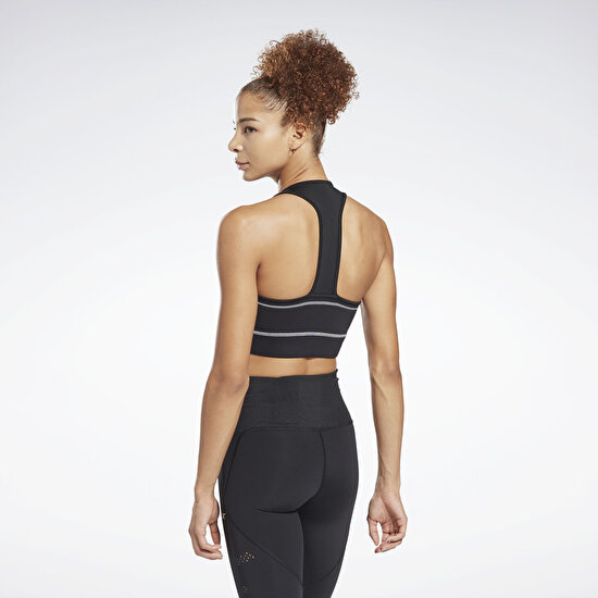 Picture of Workout Ready Detail High Neck Sports Bra