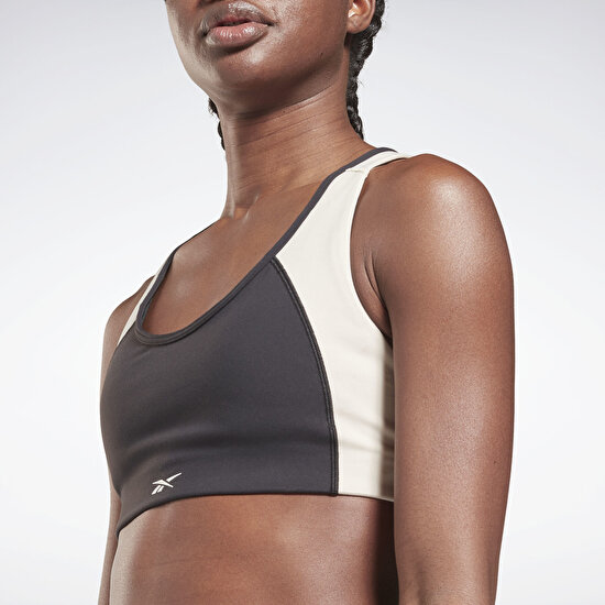 Picture of Lux Racer Padded Colorblock Sports Bra