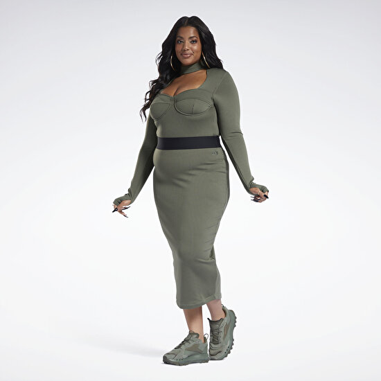 Picture of Cardi B Rib Skirt (Plus Size)