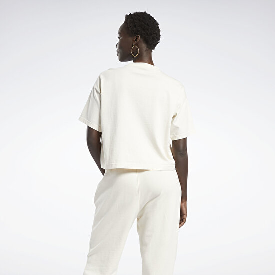 Picture of Reebok Classics Non Dye Cropped T-Shirt